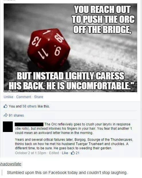 D&D critical fail