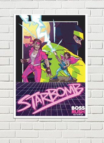 Starbomb poster