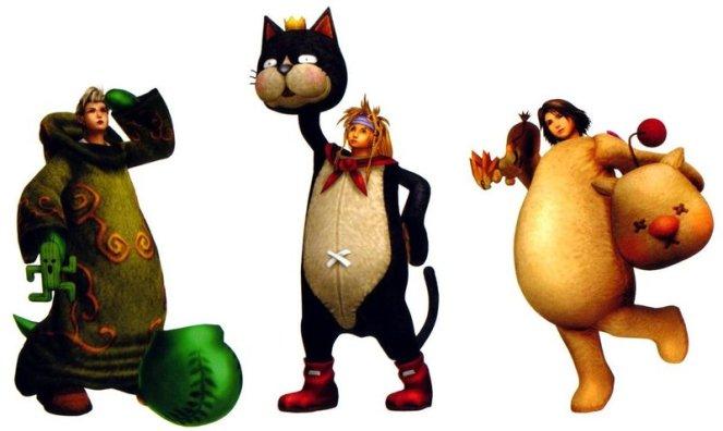 FFX-2 Mascots