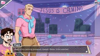 Jesus is calming