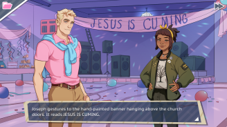 Jesus is cuming